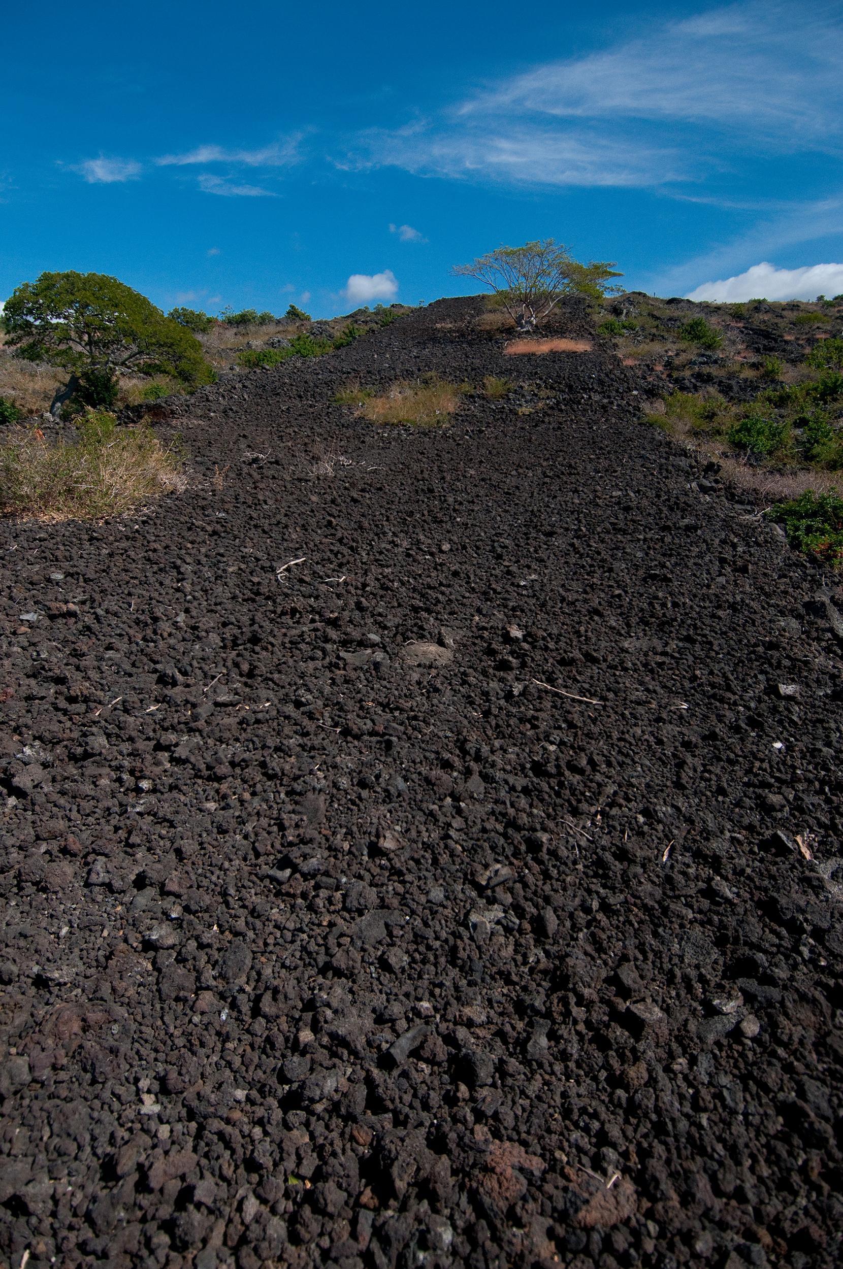 [Hōlua riding course] Photo by Ruben Carillo.