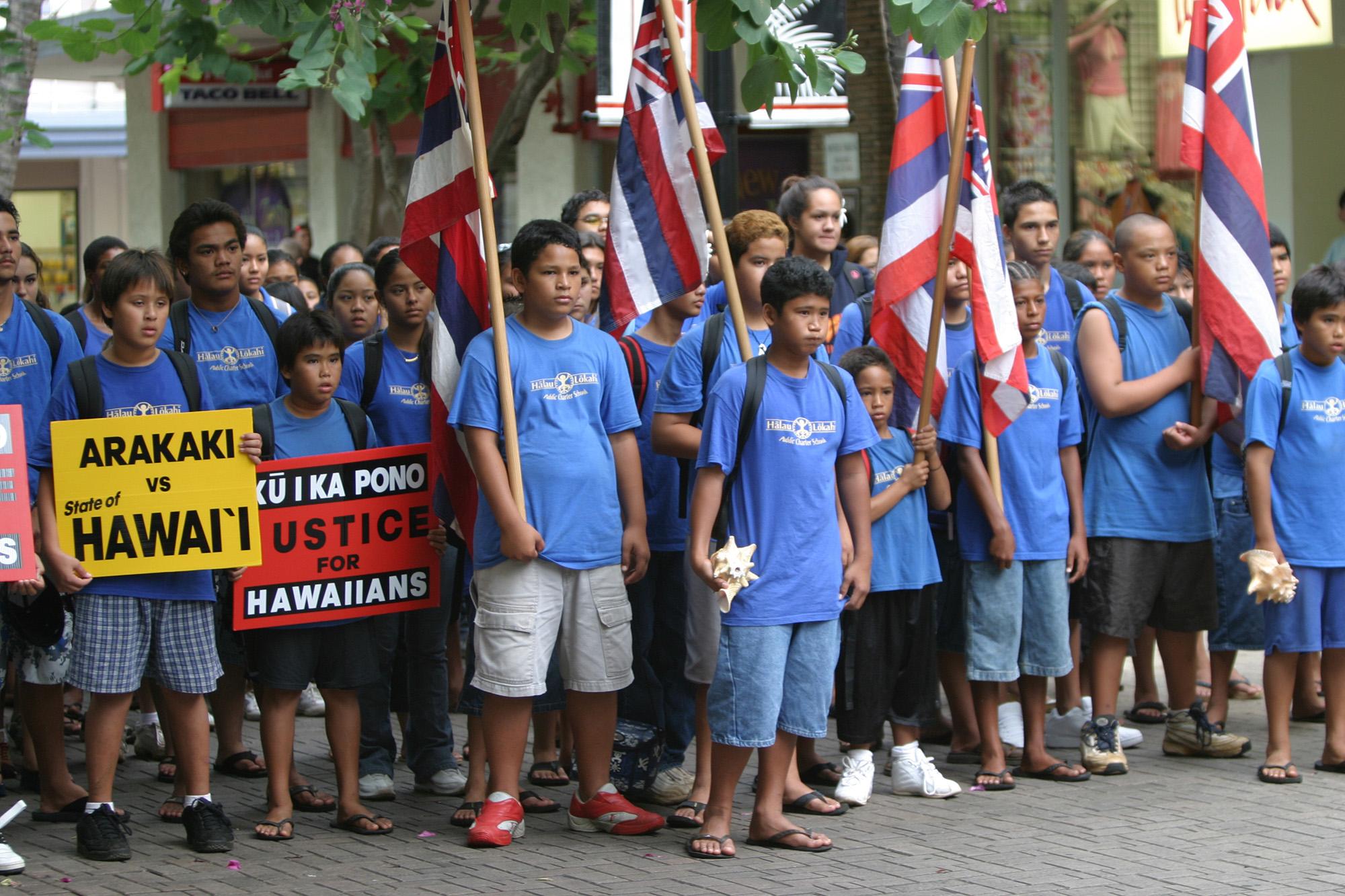 [Students in action] Hālau Lōkahi charter school