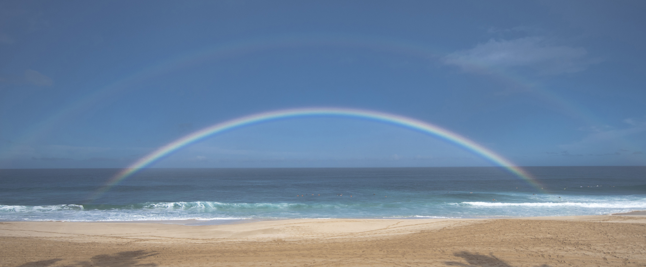 [Full rainbow] Photo by Ruben Carillo.