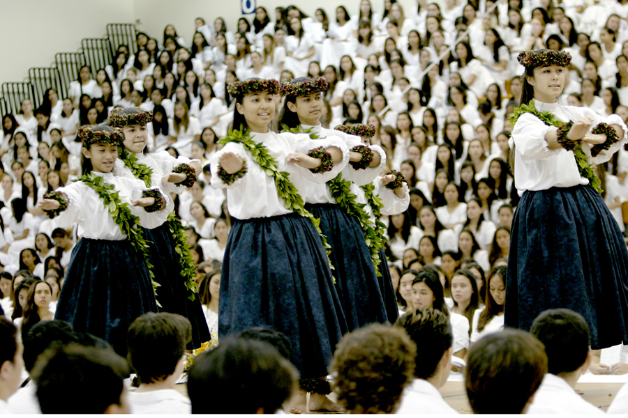 [Wahine hula] Photo by Michael Young.