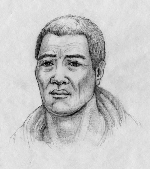 [Kamehameha] Artwork by Brook Kapūkuniahi Parker.